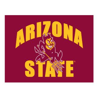 Arizona State Sun Devil Postcard