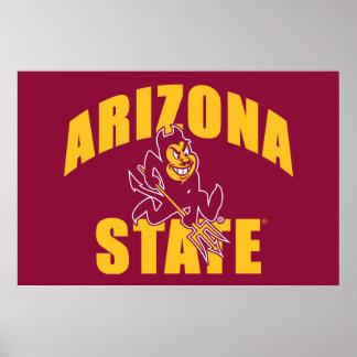 Arizona State Sun Devil Poster
