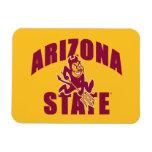 Arizona State Sun Devil Rectangular Photo Magnet