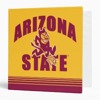 Arizona State Sun Devil | Stripes Binder