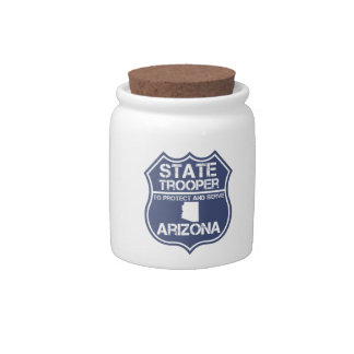 Arizona State Trooper To Protect And Serve Candy Dishes