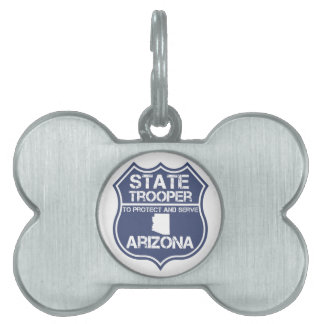 Arizona State Trooper To Protect And Serve Pet Tag