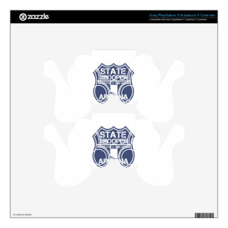 Arizona State Trooper To Protect And Serve PS3 Controller Decal
