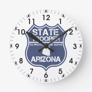Arizona State Trooper To Protect And Serve Round Clock