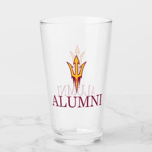 Arizona State University Alumni Glass
