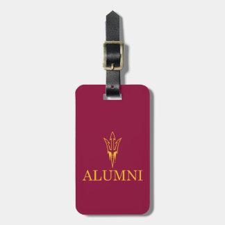Arizona State University Alumni Luggage Tag