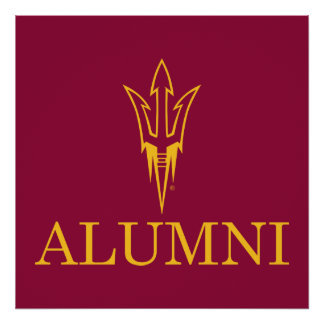 Arizona State University Alumni Poster