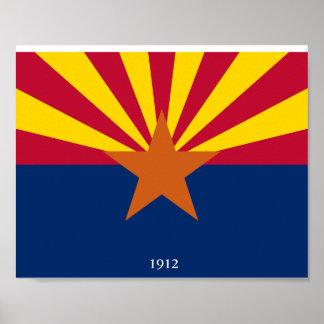 Arizona Statehood Poster