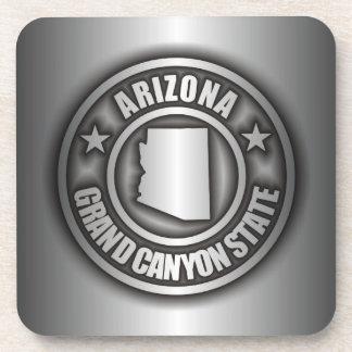 """""""Arizona Steel"""" Cork Coasters"""