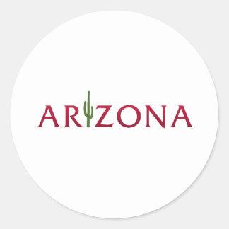 Arizona Round Sticker