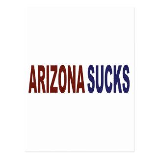 Arizona Sucks Postcard