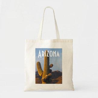 Arizona Sunlit Saguaro Bag