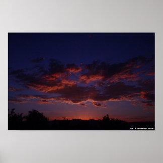 Arizona Sunset 1 - Large Poster
