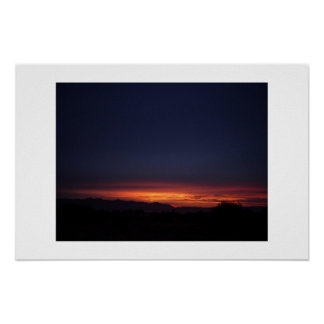 Arizona Sunset 1 Poster