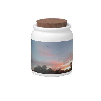 Arizona Sunset #4 Candy Jar