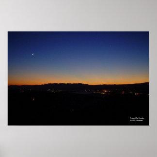 Arizona Sunset 56 [for Heather] Poster