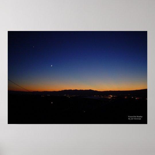 Arizona Sunset 56b [for Heather] Poster