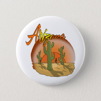 ARIZONA Sunset Cactus Button