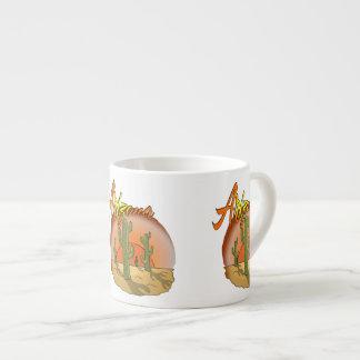 Arizona Sunset Cactus Espresso Cup