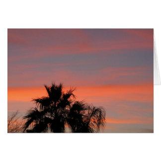 Arizona Sunset Greeting Cards
