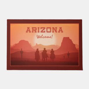 Arizona Sunset custom door mats  sc 1 st  Zazzle & Arizona Doormats \u0026 Welcome Mats   Zazzle