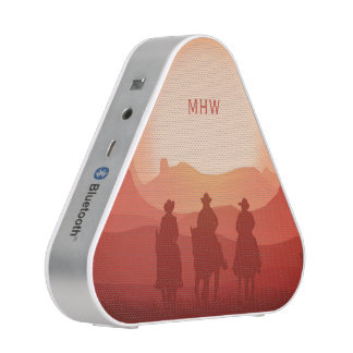 Arizona Sunset custom monogram bluetooth speaker
