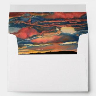 Arizona Sunset Envelope