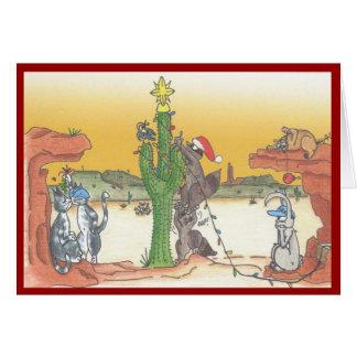 Arizona Sunset Holiday Card