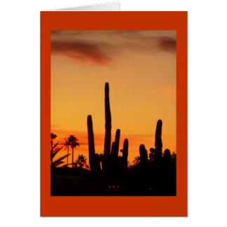 Arizona Sunset Notecard Greeting Card