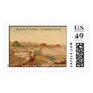 Arizona / Sunset on the Kanab Desert Stamps