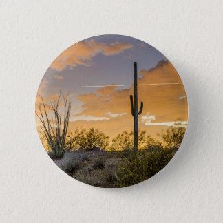 Arizona Sunset Pinback Button