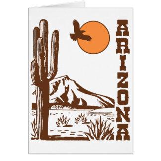 Arizona Tarjeta De Felicitación