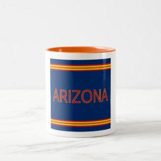 Arizona taza del Dos-Tono de 11 onzas