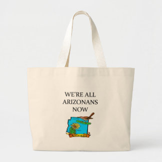 ARIZONA tea party joke Large Tote Bag