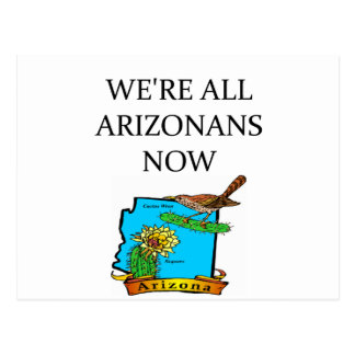 ARIZONA tea party joke Postcard