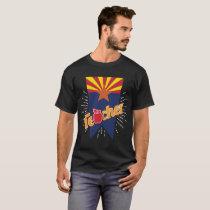 Arizona Teacher Gift -AZ Teaching Home State Pride T-Shirt