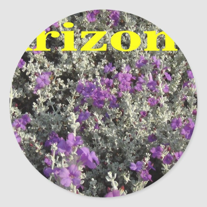 Arizona Texas Sage Classic Round Sticker
