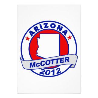 Arizona Thad McCotter Custom Announcements