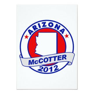 Arizona Thad McCotter 5x7 Paper Invitation Card