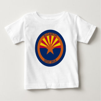 Arizona The Copper State Personalized Flag Shirt