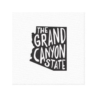 Arizona: The Grand Canyon State Canvas Print