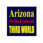 Arizona the New & Improved THIRD World Post Cards