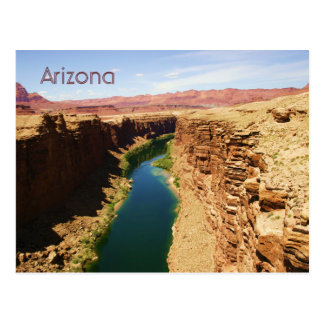Arizona Travel Poster Style Landscape Photograph Postcard