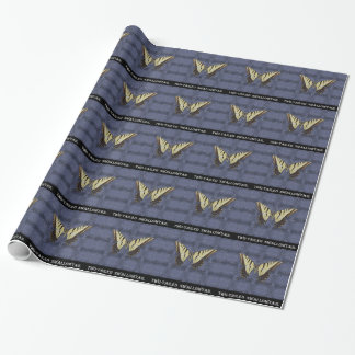 Arizona Two tailed Swallowtail Butterfly Wrapping Paper