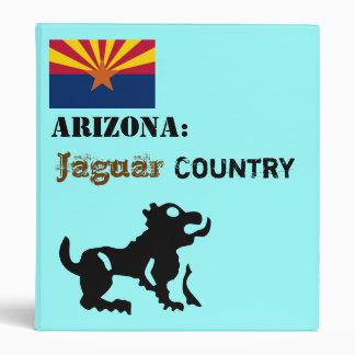 Arizona, U.S.A.:  Jaguar Country 3 Ring Binder
