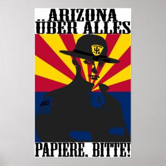 Arizona Uber Alles Poster Print