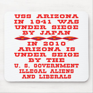 Arizona Under Siege By Federal Government #02 Mouse Pad