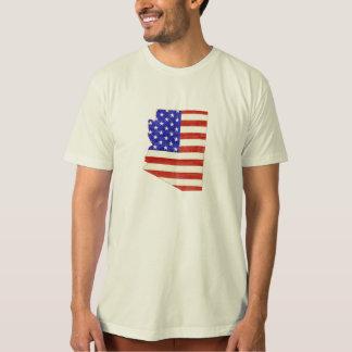 Arizona USA silhouette state map Tee Shirt