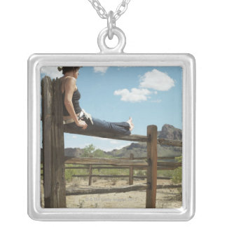 Arizona, USA Silver Plated Necklace