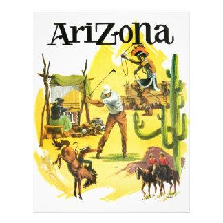 Arizona Vintage Advertising Letterhead